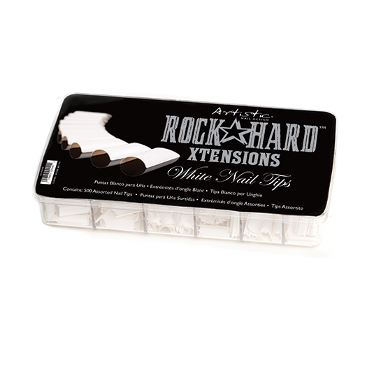 Rock Hard Xtensions White Nail Tip